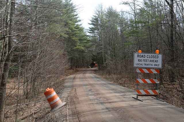 Road Upgrade Near Schoharie Reservoir