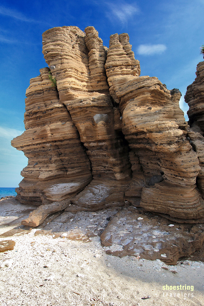 rock formation at Animasola Island