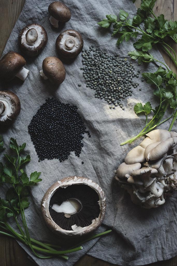 lentil & mushroom au vin 3