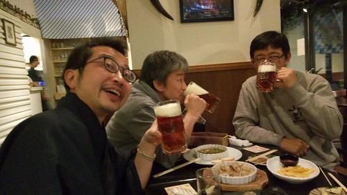 ライフシュパイゼで小樽ビール満喫