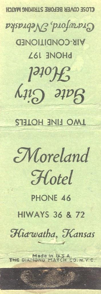 Moreland Hotel - Hiawatha, Kansas