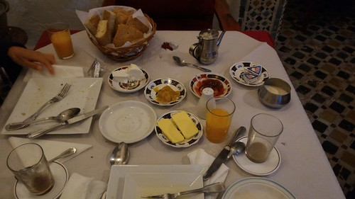 Breakfast Aftermath - Tetouan, Morocco