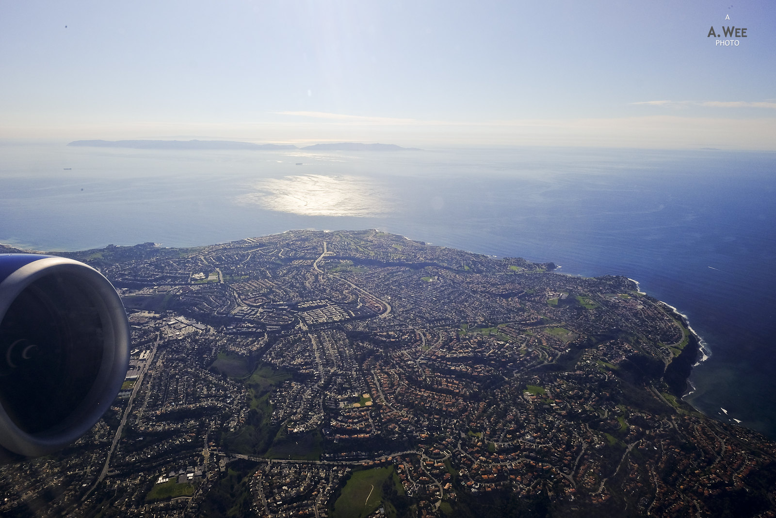 Palos Verdes from the air