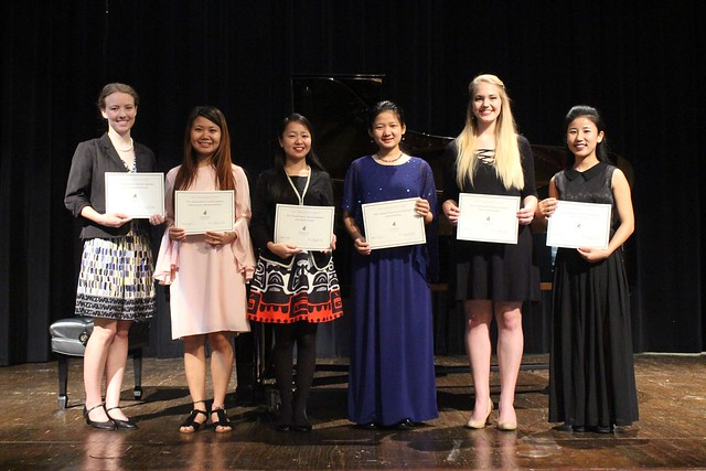 Music Honors Recital Winners