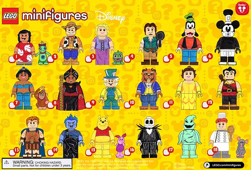 Disney Cmf Series 2 Checklist If You Want To Read More