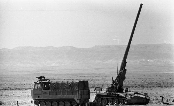 175mm-M107-M548-Alfa-weapons-display-1972-hrv-3-israel-sun