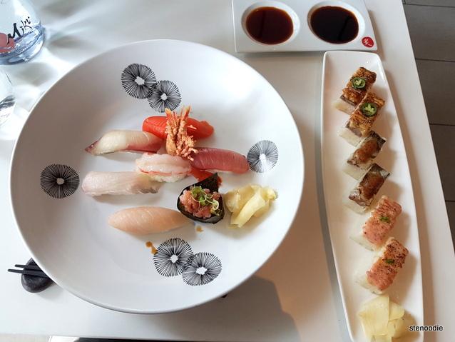 Miku Toronto sushi