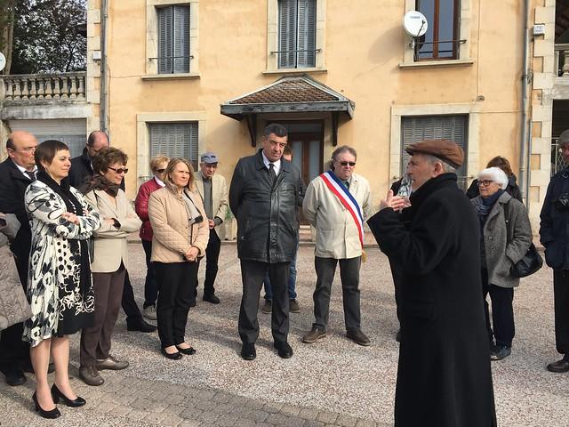 Commémoration à la Maison d'Izieu