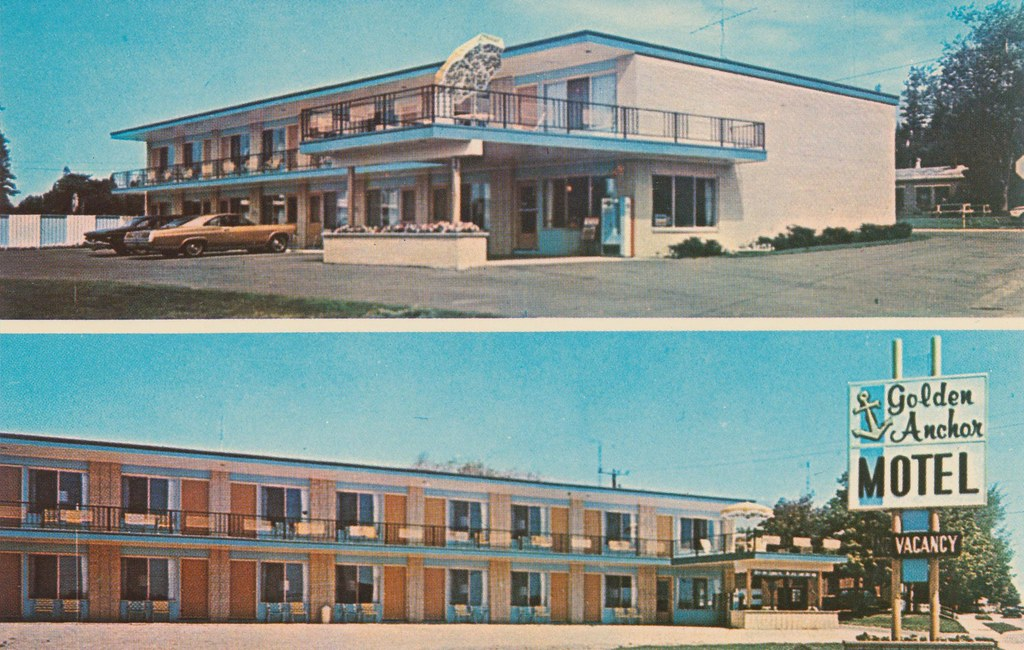 Golden Anchor Motel - St. Ignace, Michigan