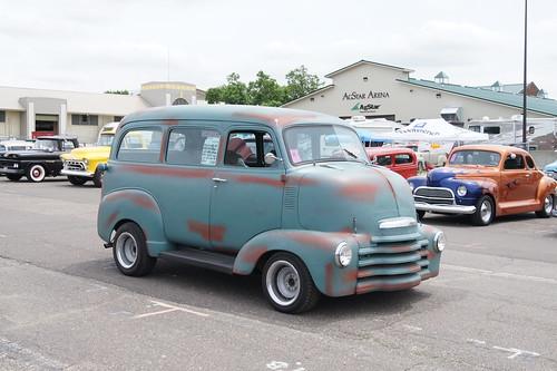 "50 Chevrolet COE Suburban (Cab Over Engine) | MSRA ""BACK ..."