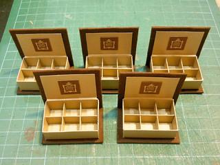 diy mini chocolate box aya ume flickr. Black Bedroom Furniture Sets. Home Design Ideas