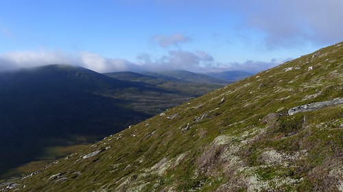 South from Meall Cuaich | by Nick Bramhall