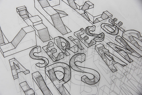 WIP// 3D Typography, draft #1 | by Lex Wilson