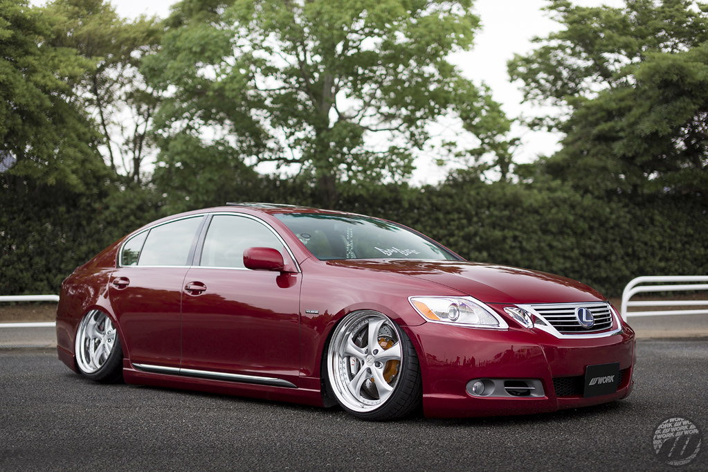 ... BOOBEE Lexus GS On WORK VS KF | By WORK Wheels Japan