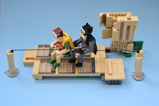 original Batman & Robin ( behind the scenes )