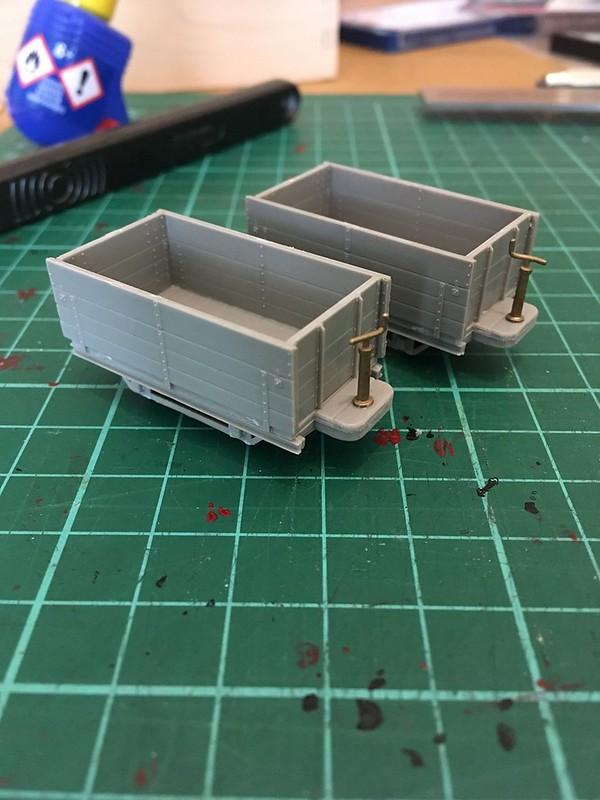 Meridian Models 8-ton Bagnall wagons (aka Bagwags)