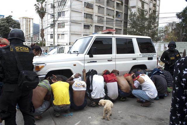 Ultimaron a ocho antisociales durante OLHP en El Valle