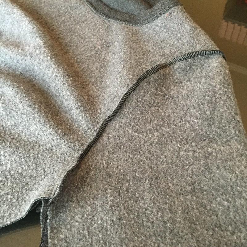 Sweatshirt Refit - In Progress
