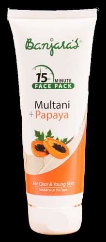 Banjaras Multani Papaya Face Pack