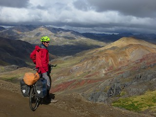 Descending from Punta Yahuarcocha (4980m) | by Pikes On Bikes