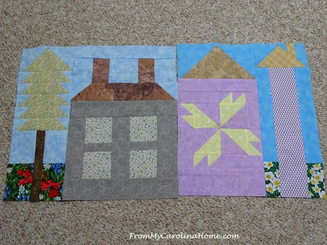 Be My Neighbor Quilt Blocks ~ From My Carolina Home