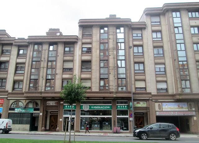 Art Deco Style Building, Avilés.