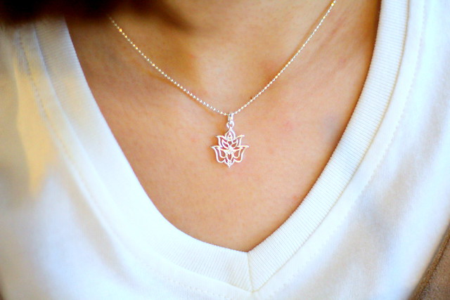 Thomas Sabo Lotus Flower Necklace