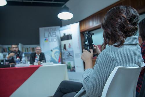 Rueda de prensa: Lanzamiento Primer Festival Internacional de Celumetrajes en Ecuador