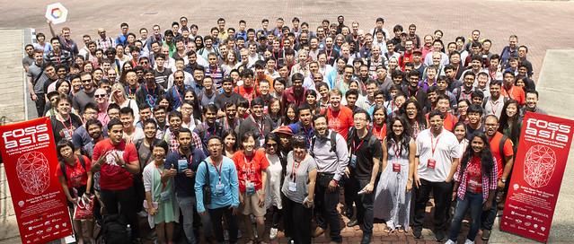 FOSSAsia 2017 Group Photo