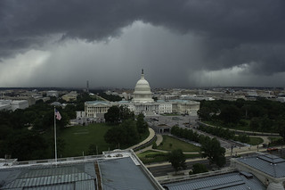 View of Storm from Library of Congress | by USCapitol