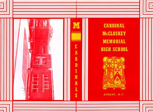 cardinal mccloskey high school book cover albany ny 1960s