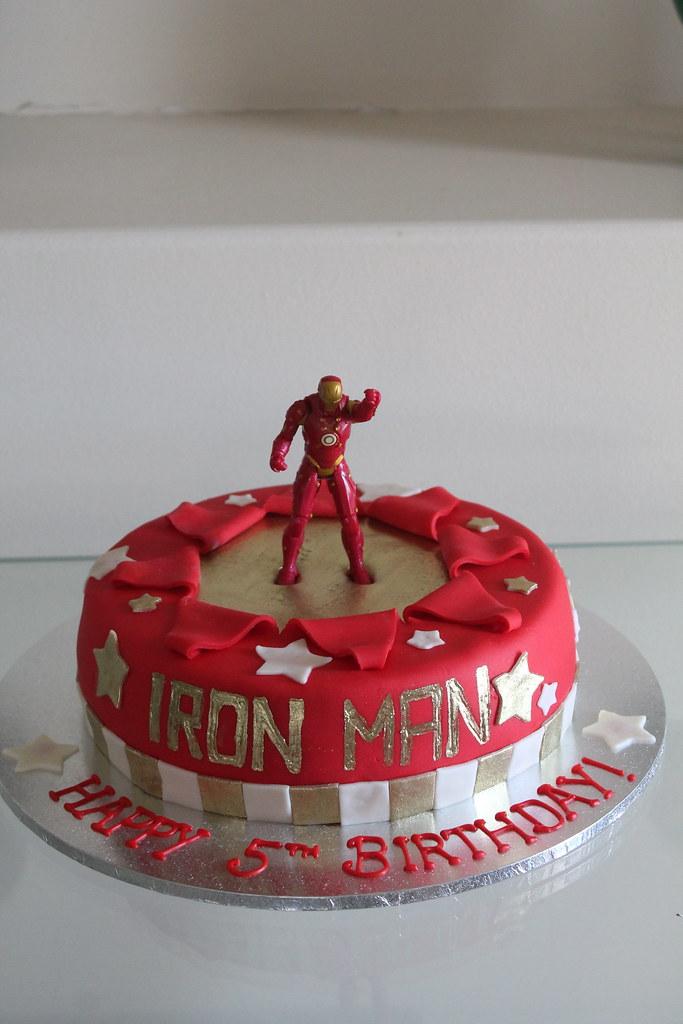 Iron Man Birthday Cake Maryam Issadeen Flickr