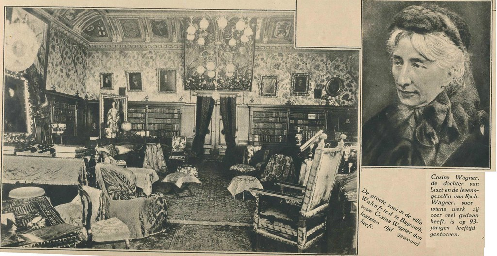 interieur villa wahnfried bayreuth 1930 by janwillemsen