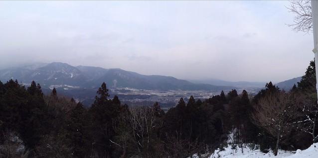 松尾山 山頂展望