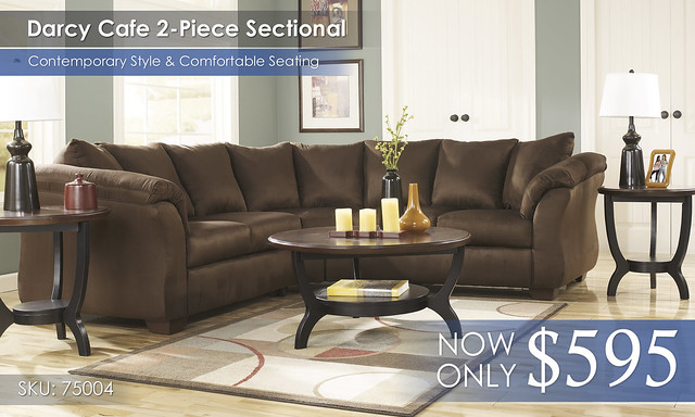 Darcy Cafe Sectional 75004-55-56-T288-SD