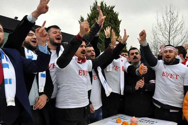 Turkey Orange Protest