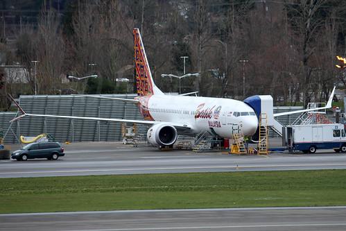Boeing 737 MAX 8 Batik Air Malaysia 9M-LRC