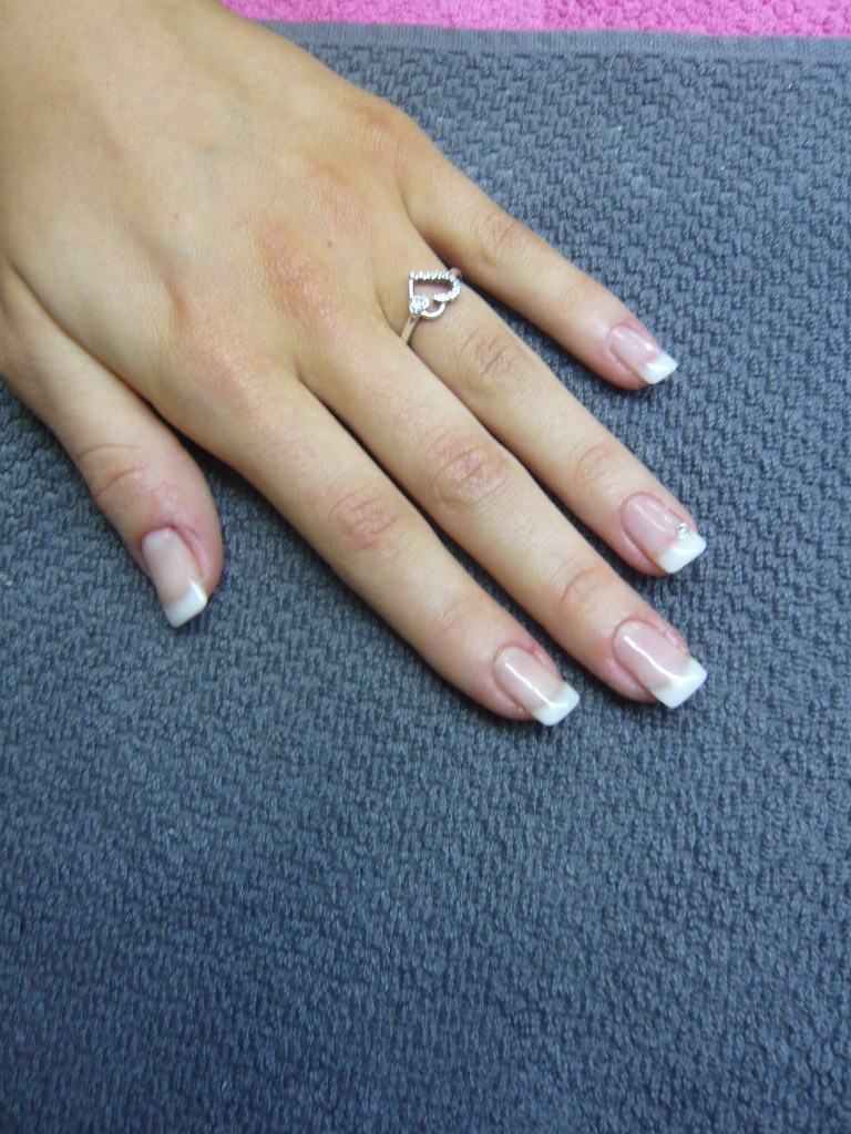 Natural french manicure by www.nails-school.com | french man… | Flickr