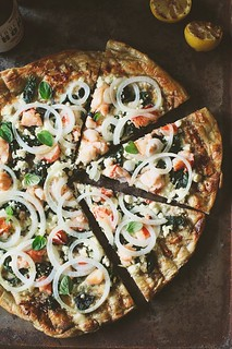 Lobster Grilled Pizza | by tartelette