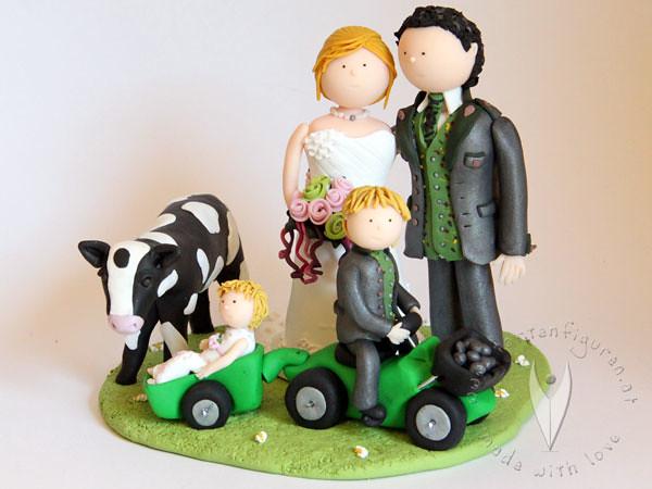 Bauern Trachten Familie Tortenfigur Tortenfiguren Flickr