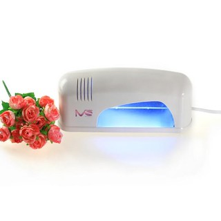 Deal!MelodySusie Portable White Violeteer 9W UV Lamp Light Acrylic Nail Dryer for CND Shellac(free shipping)
