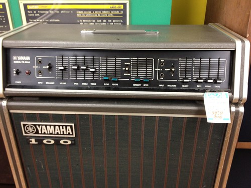 yamaha pe 200a guitar amp head details with ts 110 speak flickr. Black Bedroom Furniture Sets. Home Design Ideas