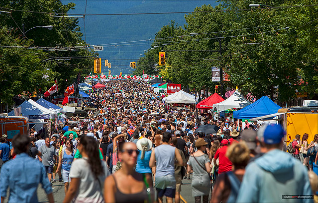 Italian Day On Commercial Drive