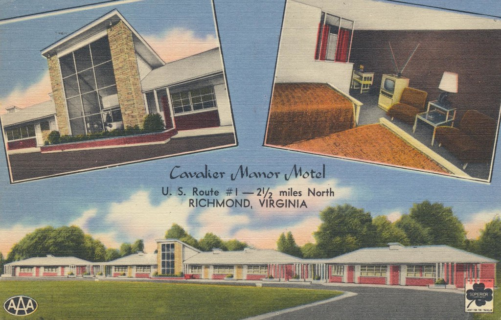 Cavalier Manor Motel - Richmond, Virginia