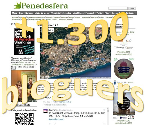 +1.300 bloguers a la Penedesfera
