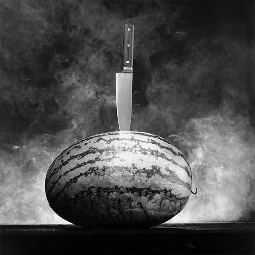Watermelon with Knife, 1985 Gelatin Silver Print © Robert Mapplethorpe Foundation. Used by permission.