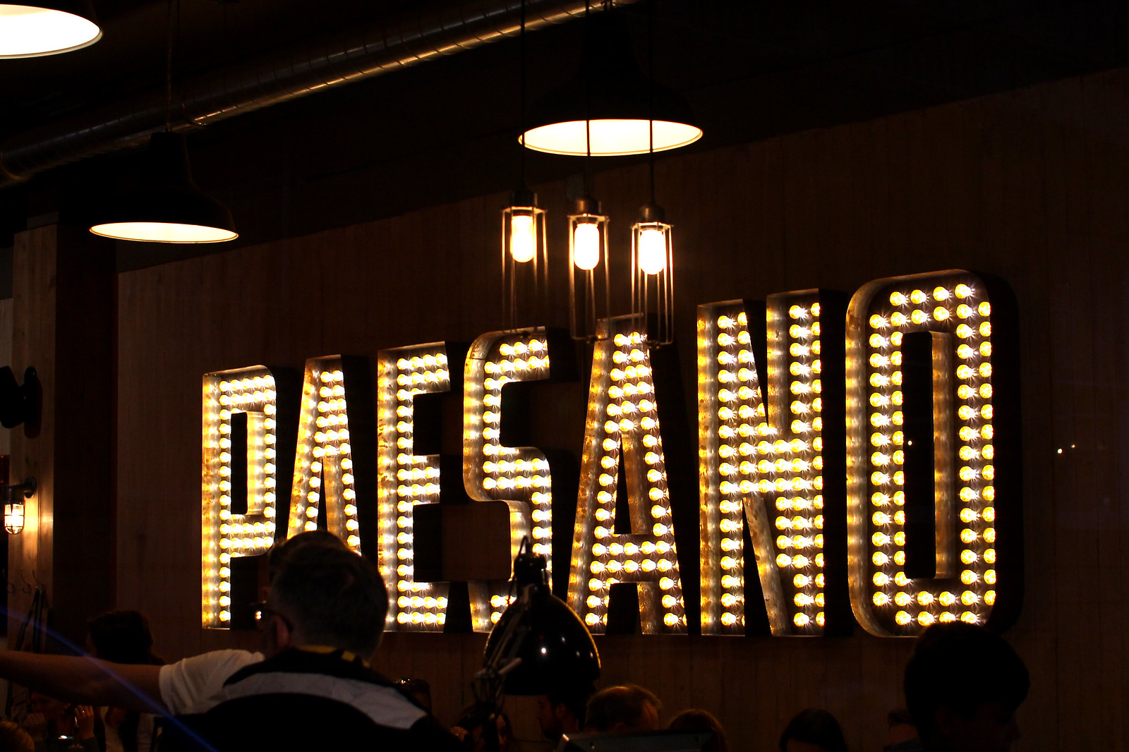 Paesano Pizza Glasgow UK travel blogger