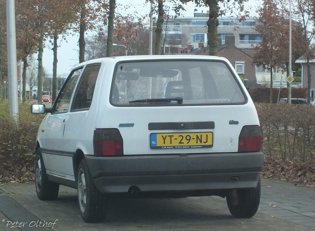 1990 Fiat Uno 45 Ie Assen Probably The Same Owner Since Flickr