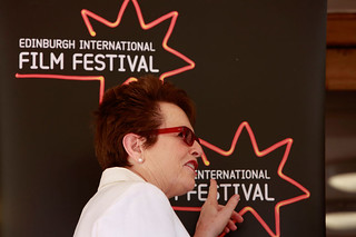 Tennis Legend Billie Jean King at a photocall for Battle of the Sexes at  the Dominion | by Edinburgh International Film Festival