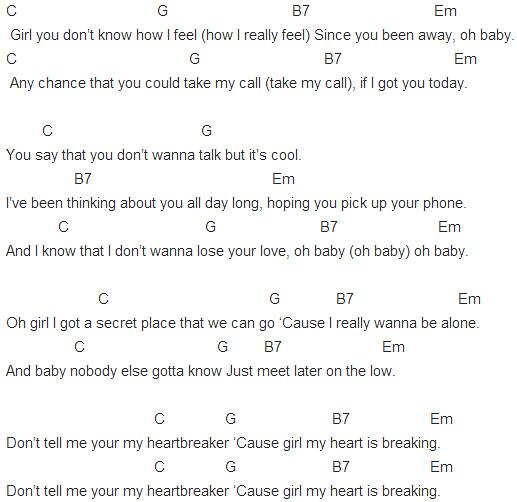 Capo 2 Heartbreaker Chords Capo 2 Heartbreaker Chords Flickr